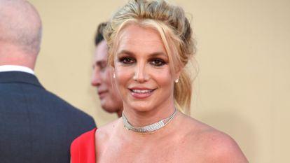 Britney Spears, en un estreno en Hollywood, California, en octubre de 2019.