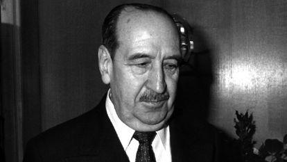 El general Alfonso Armada Comyn, en diciembre de 1988.