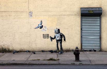Grafiti de Bansky.