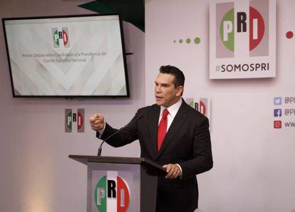 Alejandro Moreno, candidato a la presidencia del PRI
