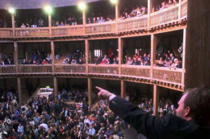 El Teatro Globe de Londres.