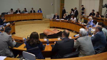 Votación en el Parlamento