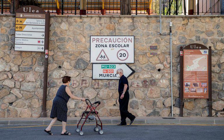 Municipio de Ulea, la última localidad de Murcia donde ha llegado el coronavirus.