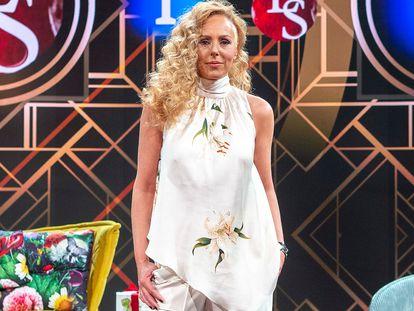 Rocío Carrasco en el estreno de la temporada del programa 'Lazos de Sangre', conducido por Boris Izaguirre, en junio de 2020.