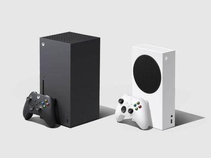 Imagen: próxima generación de consolas de Microsoft (REUTERS) Vídeo: comparativa de las nuevas Xbox Series y PlayStation 5 (Jorge Morla y Olivia L. Bueno)
