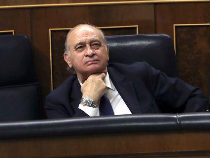 Jorge Fernández Díaz, exministro del Interior, en el Congreso en 2016.