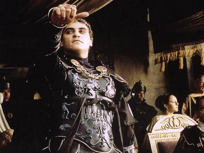 Joaquin Phoenix, en un fototograma de 'Gladiator'.