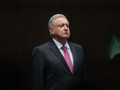 El presidente de México, Andrés Manuel López Obrador, durante un evento en Palacio Nacional el pasado 1 de julio.