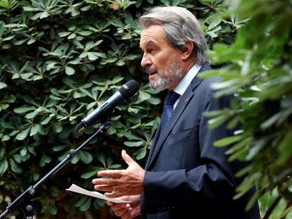 El expresidente de la Generalitat Artur Mas durante una conferencia de prensa, el pasado junio.
