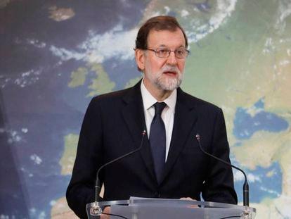 Mariano Rajoy inaugura la cumbre del Clima en el Ministerio de Agricultura.