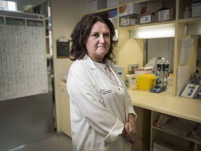 Maria Jesus Cruz Carmona, coordinadora del programa de asma del Hospital Vall d'Hebron de Barcelona.