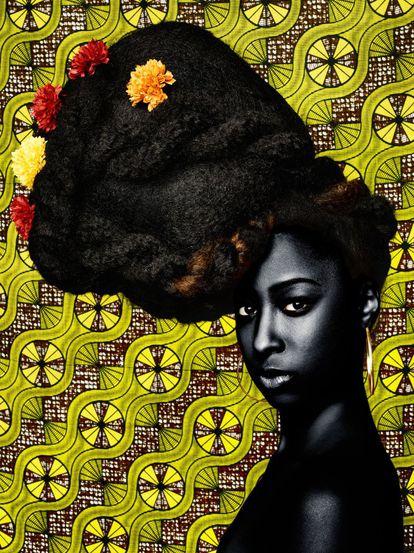 'Ellante' (Serie 'CROWN: My Hair, My Soul, My Freedom'), de Sandro Miller.