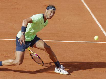 Rafael Nadal durante este Roland Garros.