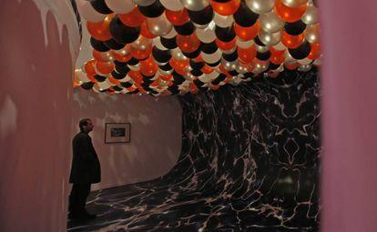 La instalación 'Ritual (sin) creencia' (2018), de Evan Ifekoya, en La Casa Encendida