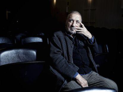 Jean-Claude Carrière, en Madrid en 2016 en el estreno de su obra 'Las palabras y la cosa'.