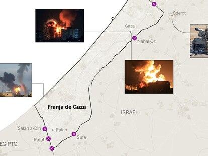La ofensiva israelí contra Gaza, día a día