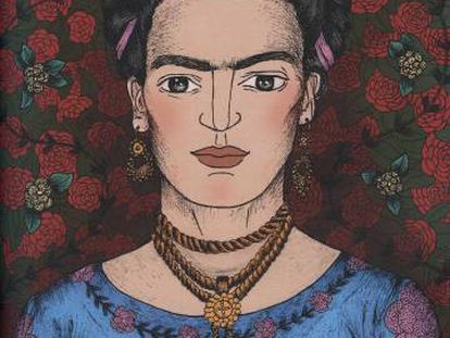 Frida Kahlo, en 'Cuentos de buenas noches para niñas rebeldes'.