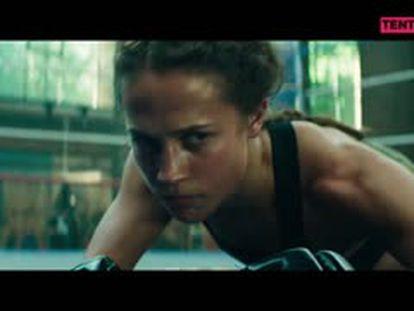 Entrevista en vídeo: Alicia Vikander sigue el camino de Angelina Jolie en 'Tomb Raider'