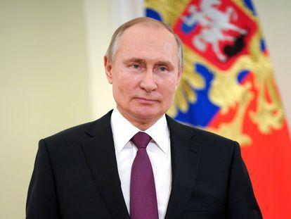 El presidente ruso, Vladímir Putin, en Moscú, el pasado 27 de marzo.