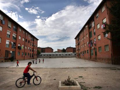 El barrio de La Coma, en Paterna, en una imagen de archivo.