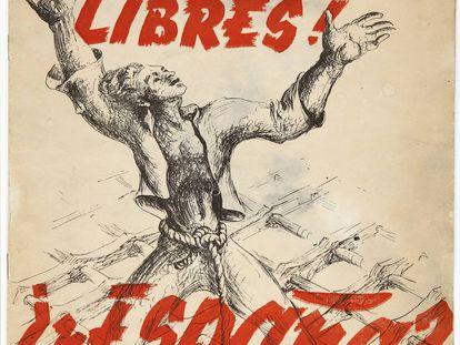 Portada del libro '¡Pueblos libres!' de Rafael Alberti.