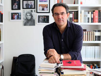Juan Gabriel Vásquez, escritor colombiano.