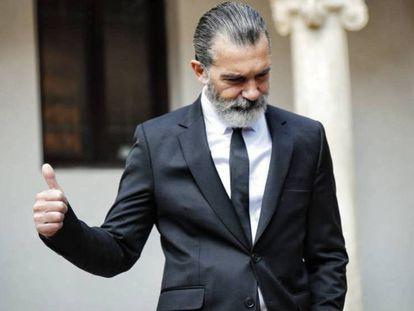 Antonio Banderas, el pasado mes de abril.