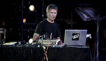 El músico alemán Michael Rother.