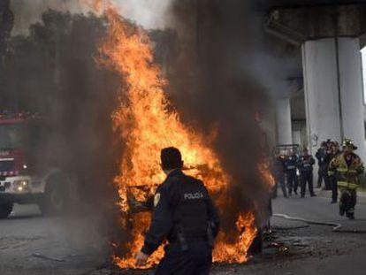 Bloqueos y disturbios en el sureste de la capital, tras la muerte del capo del cártel de Tláhuac, uno de los más importantes de la capital