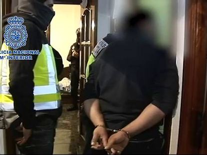 Ocho detenidos en una operación contra una célula yihadista