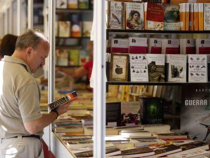 Último día de la Feria del Libro de Madrid.
