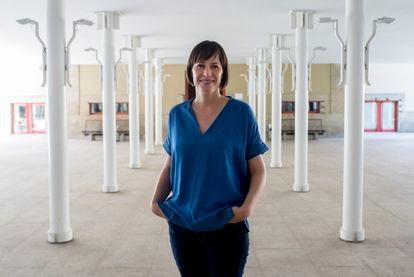 Ana Pontón, en el Parlamento de Galicia el pasado viernes.
