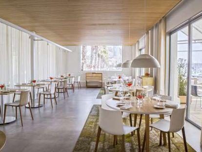 Restaurante Monastrell, de la chef María José San Román, en Alicante.