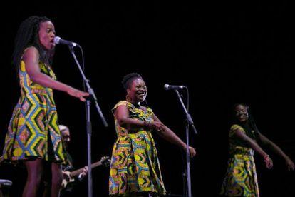 The Sey Sisters, en su actuación en el Festival Castell de Peralada.