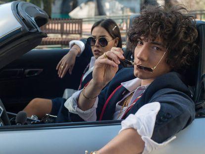 Dos de los personajes de 'Elite' en uno de los capítulos de la segunda temporada, que se acaba de estrenar.