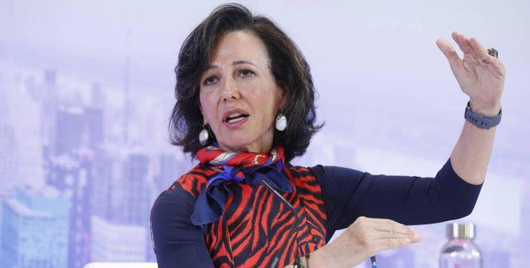 La presidenta de Banco Santander, Ana Botín, en una imagen de archivo.