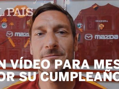 Ricardo Darín, Totti y Henry felicitan a Messi en vídeo por su 30 cumpleaños