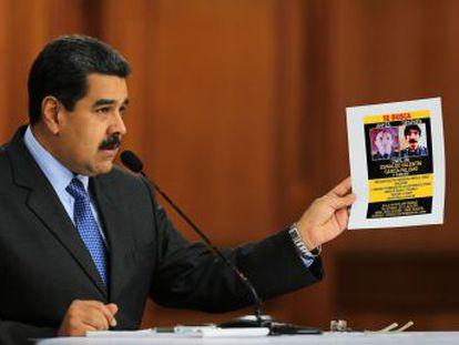 El mandatario asegura que los autores del ataque fueron entrenados en Colombia y coordinados por los parlamentarios Julio Borges y Juan Requesens, detenido este martes