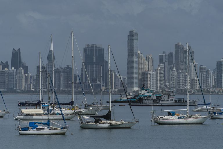 Vista del distrito Financiero de la Ciudad de Panamá.