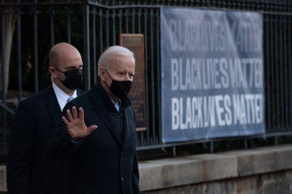 Joe Biden el pasado sábado en Washington, DC.