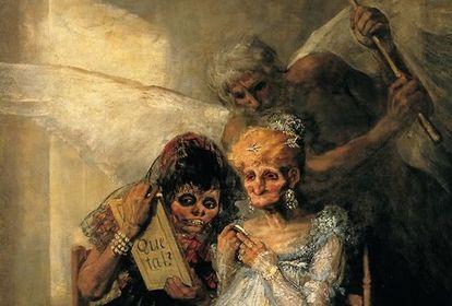 Fragmento de 'El tiempo' de Goya.