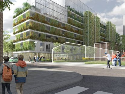 Los edificios deben considerarse como organismos vivos, autosuficientes, que posibiliten la construcción de relaciones de apoyo y cuidados
