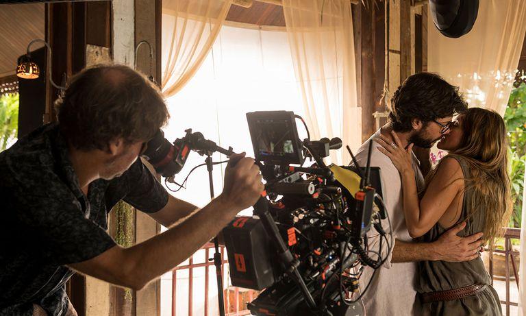 Rodaje del inicio de la cuarta temporada de 'La casa de papel'