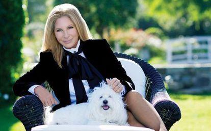La foto de Barbra Streisand con la que estrenó su cuenta de Instagram.