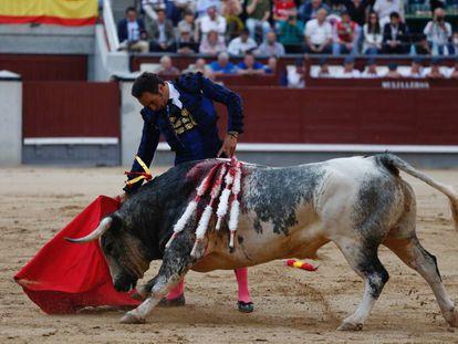 El Cid durante la Feria de San Isidro.