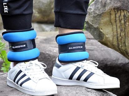 Estas pesas para tobillos agregan fuerza y resistencia a tu rutina de ejercicios