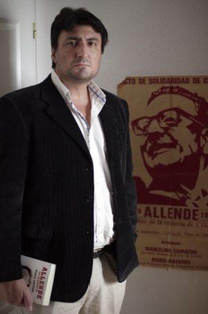 Mario Amoros, historiador, autor de 'Allende, la biografía'.