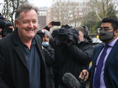 Piers Morgan tras ser despedido esta semana.
