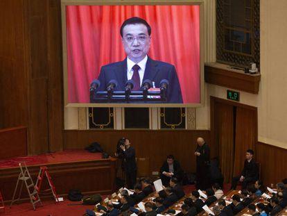 En vídeo, declaraciones del primer ministro chino Li Keqiang.
