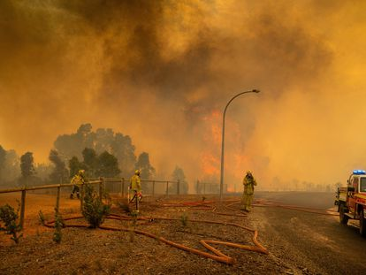 Incendio en Perth, Australia, el pasado mes de febrero.